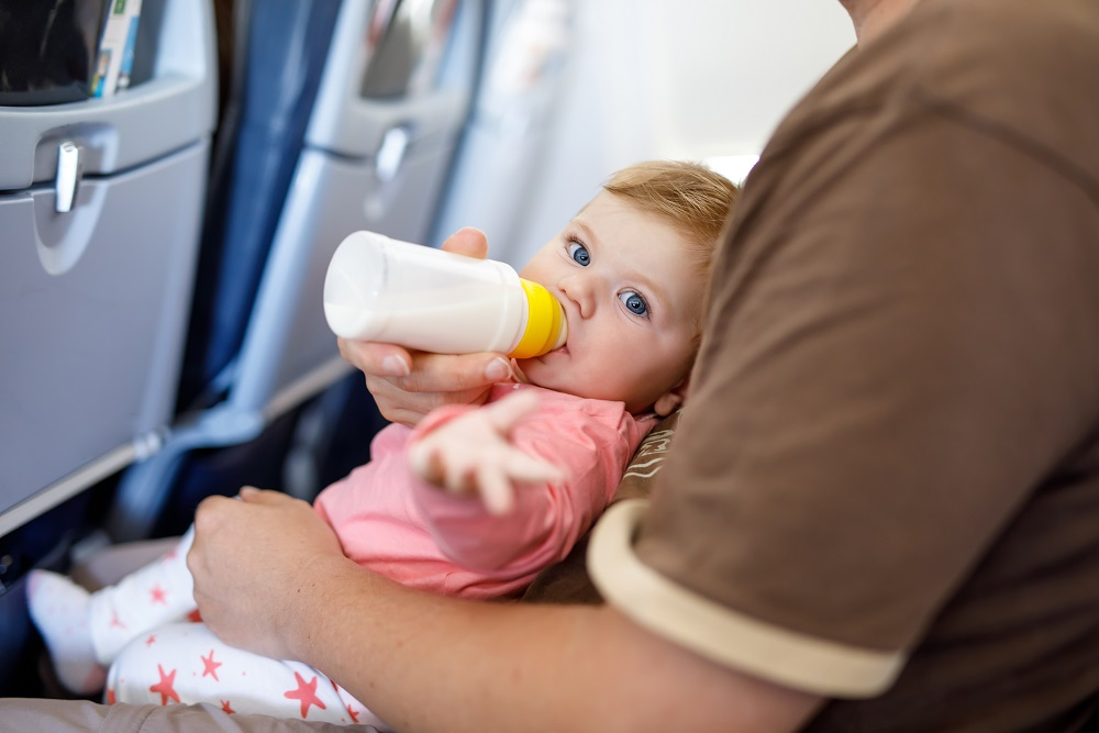 Travelling with an Allergic Infant