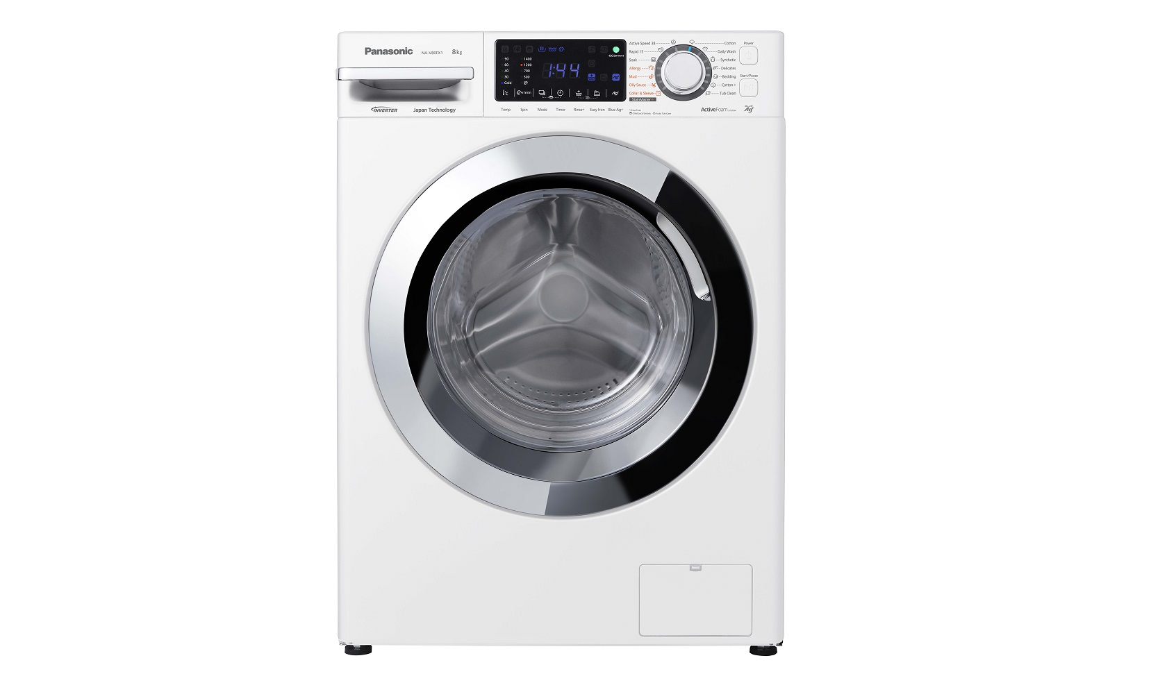 Panasonic Front Loading Washing Machine With Allergy Course