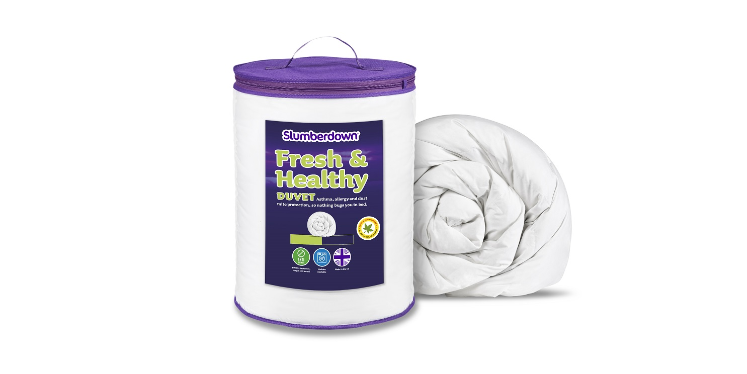 Slumberdown Fresh & Healthy Anti - Allergy Bedding