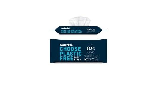 Waterful Choose Plastic Free Baby Wipes