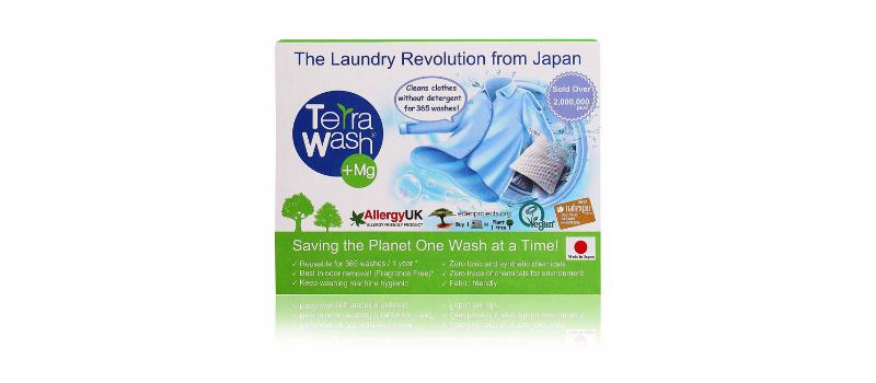 Terra Wash+Mg, Eco Laundry Sachet